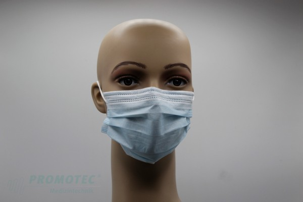 Disposable Medical Mask (CE), 3-lagig, TYP IIR
